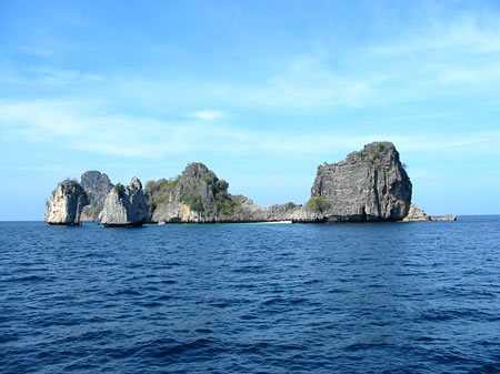ko ha five island for scuba diving