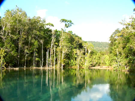 emerald pool and hot spring of Krabi